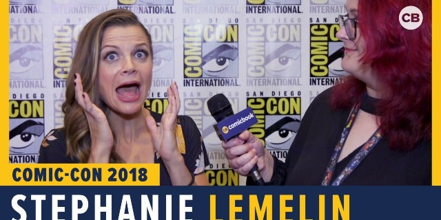 Stephanie Lemelin - SDCC 2018 Exclusive Interview screen capture