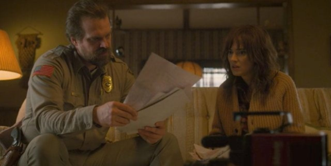 a3ac1d6d1 'Stranger Things' Star David Harbour Teases a