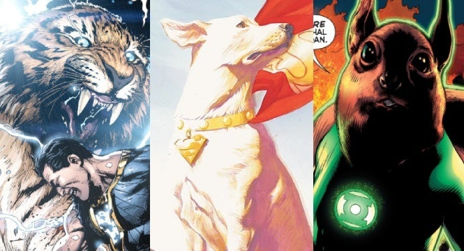 super pets movie dc characters