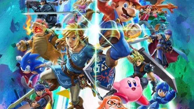 """Super Smash Bros """"title ="""" Super Smash Bros. """"height ="""" 374 """"width ="""" 665 """"class ="""" 40 """"data item = """"1130988"""" /> </figure> <p> Nintendo has been all aboard the <i> Super Smash Bros. Ultimate </i> Hype Train As or Late. Along with revealing new characters to the game, the company has also introduced a number of items, including a GameCube controller and a limited edition Nintendo Switch Pro Controller, which is available both separately and as part of an Ultimate Bundle. But it looks like somewhere down the line, it will introduce a system and game bundle as well. 1<div class="""