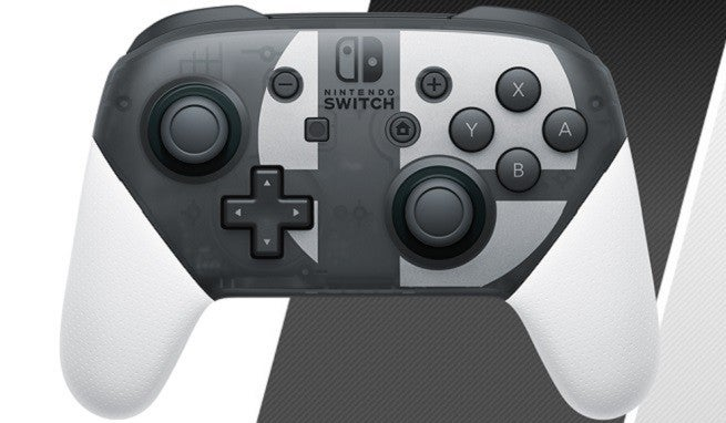 "Super Smash Bros Ultimate Controller ""height ="" 382 ""width ="" 655 ""data-item ="" 1130481 ""/>    <figcaption> (Photo: Nintendo) </figcaption></figure> <p>  Nintendo's <em> Super Smash Bros. Ultimate </em> page has been updated to show a new <a href="
