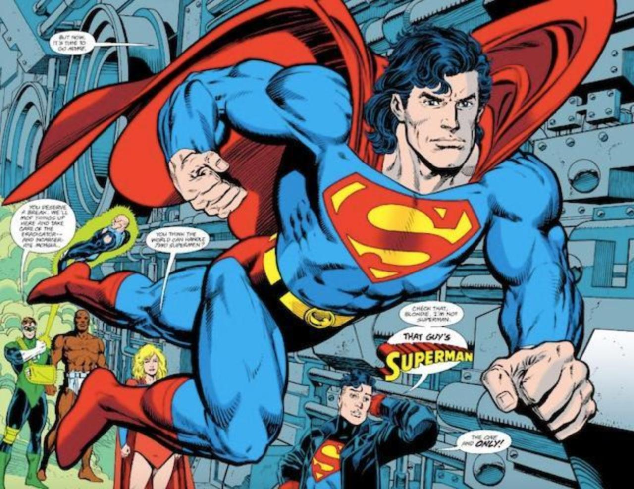25 Years Ago Superman Was Back For Good