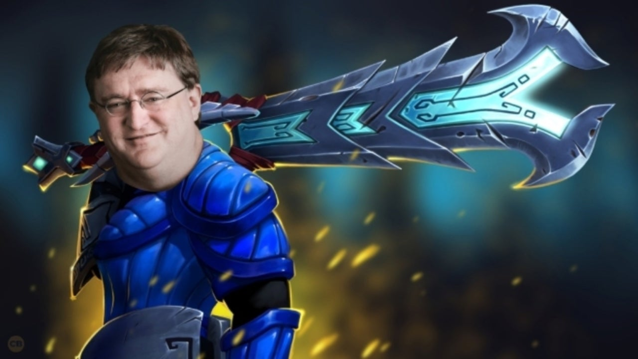 Dota 2 Adds Hilarious Gabe Newell Voice Pack