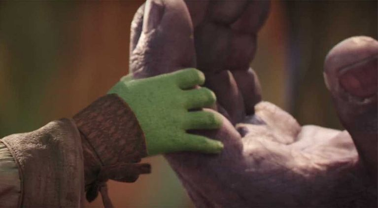 thanos gamora infinity war