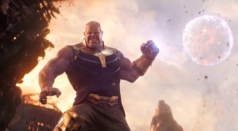 Thanos Moon Avengers Infinity War