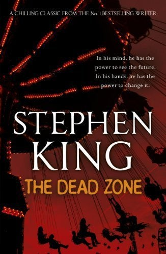 the dead zone book cover stephen king