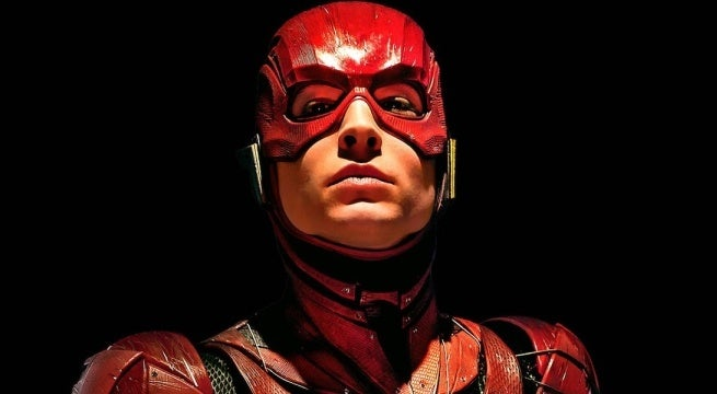 the flash movie dc films ezra miller