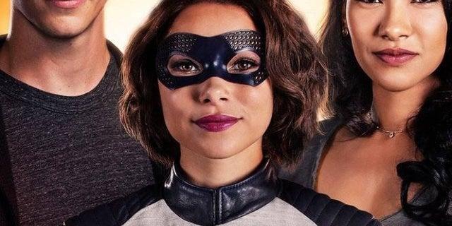 the flash season 5 poster westallen family nora
