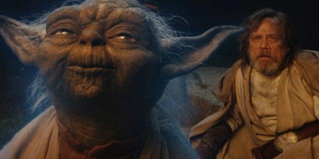 The Last Jedi Luke Yoda