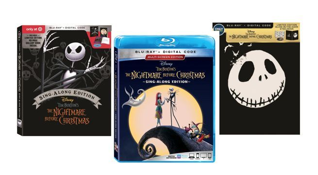 the nightmare before christmas 25th anniversary blu rays have a sing along mode - What Year Did Nightmare Before Christmas Come Out