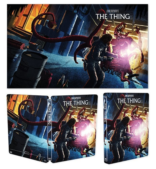 the thing steelbook blu ray
