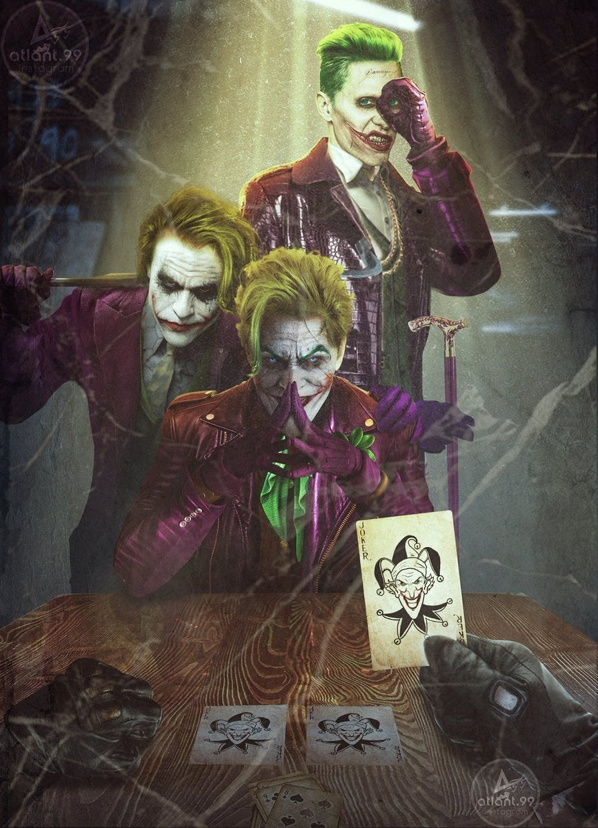 batman three jokers cover art reimagined with nicholson ledger