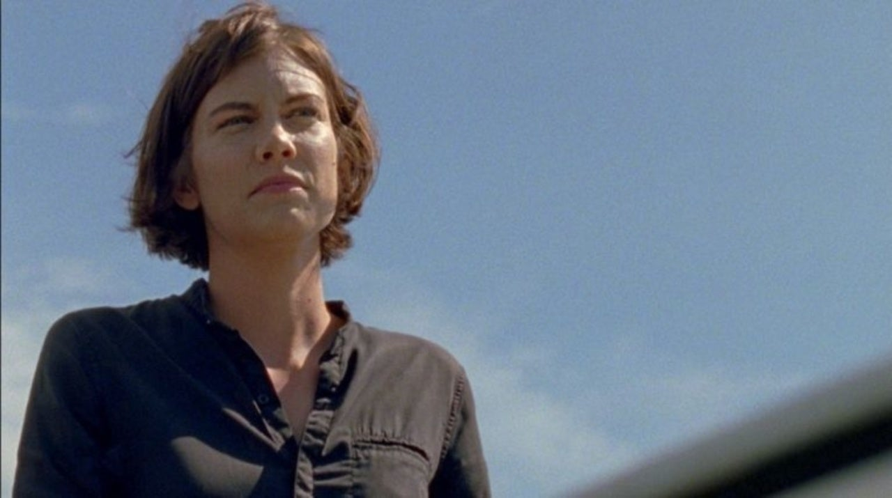 Lauren Cohan face