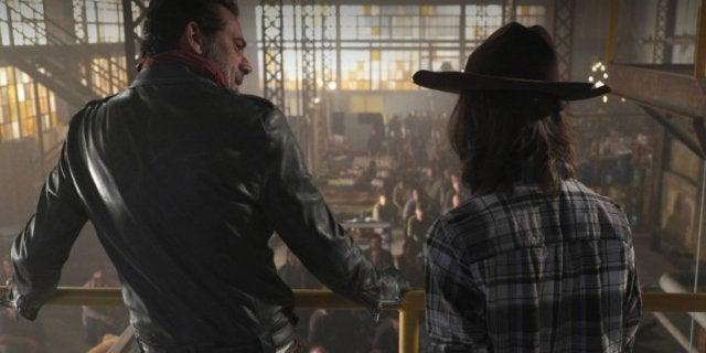 The Walking Dead Negan Carl