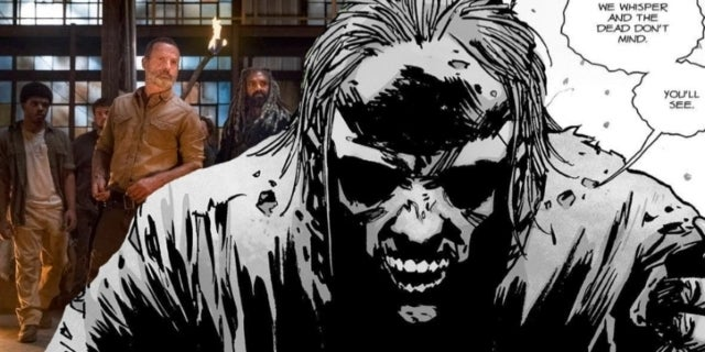 The Walking Dead season 9 Whisperers comicbookcom