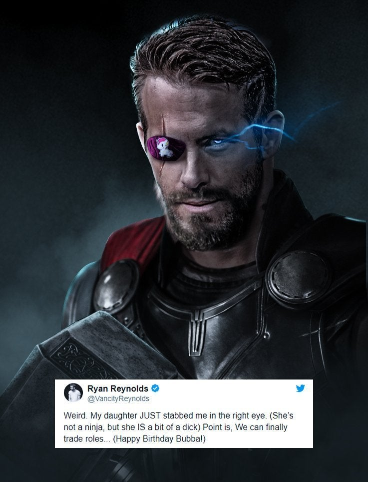 Heres What Ryan Reynolds Could Look Like As Thor