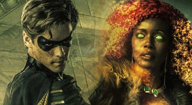 titans tv show cast photos