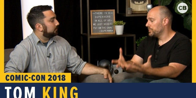 Tom King - SDCC 2018 Exclusive Interview screen capture