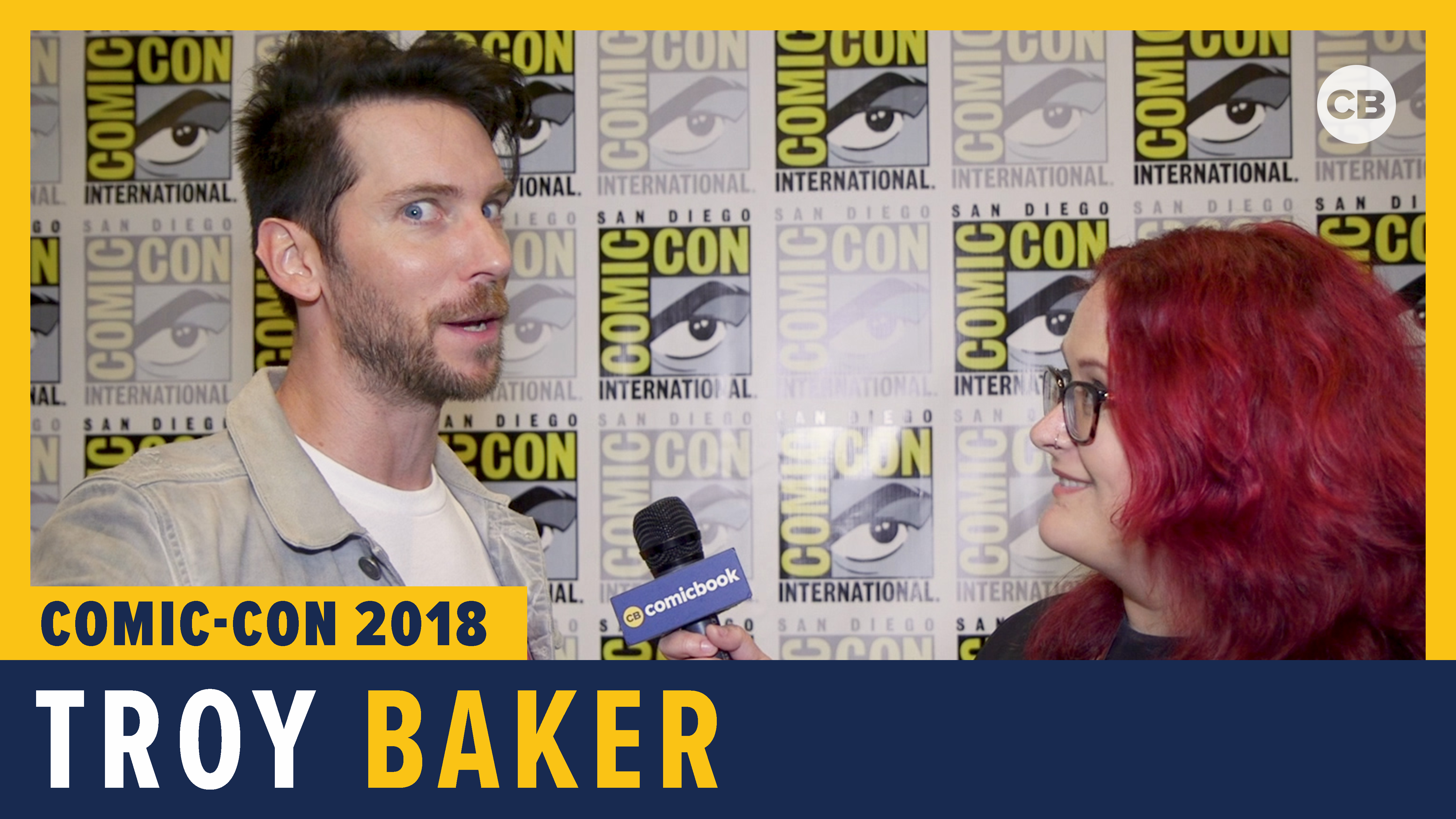 Troy Baker - SDCC 2018 Exclusive Interview screen capture