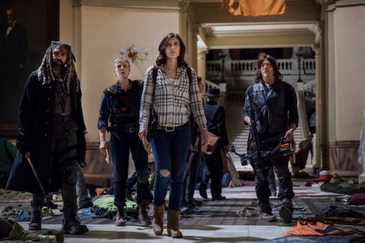Risultati immagini per new images of the first episode of the walking dead 9x01