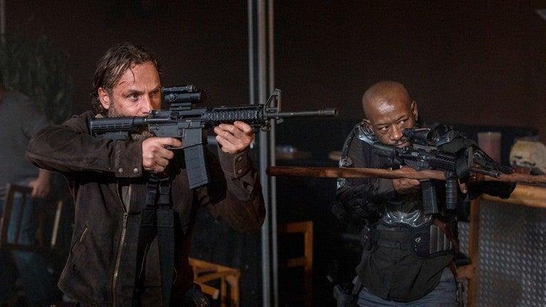 Walking Dead Rick Morgan