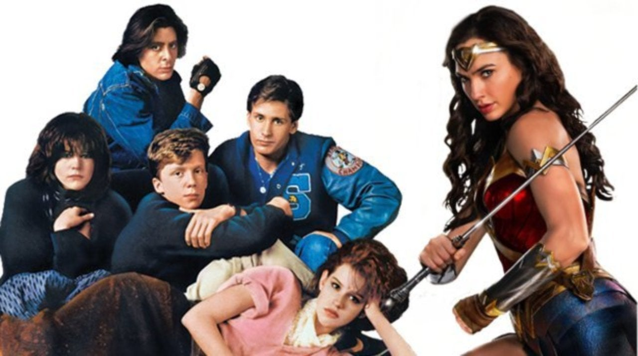 Wonder Woman 1984' Cast Poses in New 'Breakfast Club' Easter Egg Photo