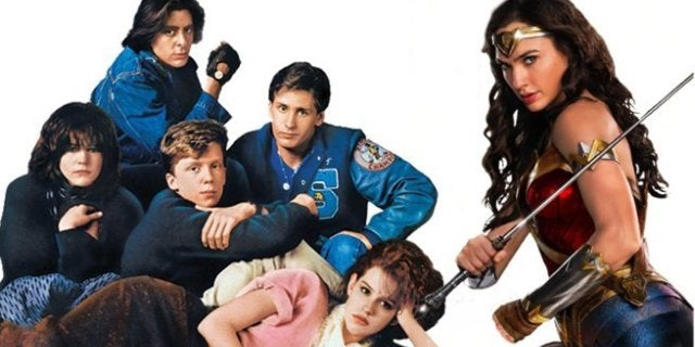 Wonder Woman 1984 Cast Poses In New Breakfast Club Easter Egg Photo