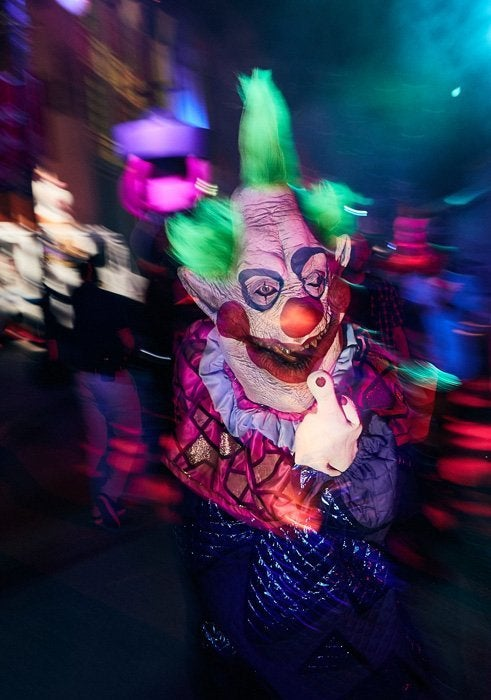 14_Killer Klowns from Outer Space Scare Zone_HHN2018