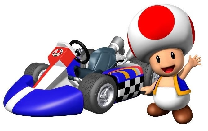 What Does Toad From Mario Kart Look Like