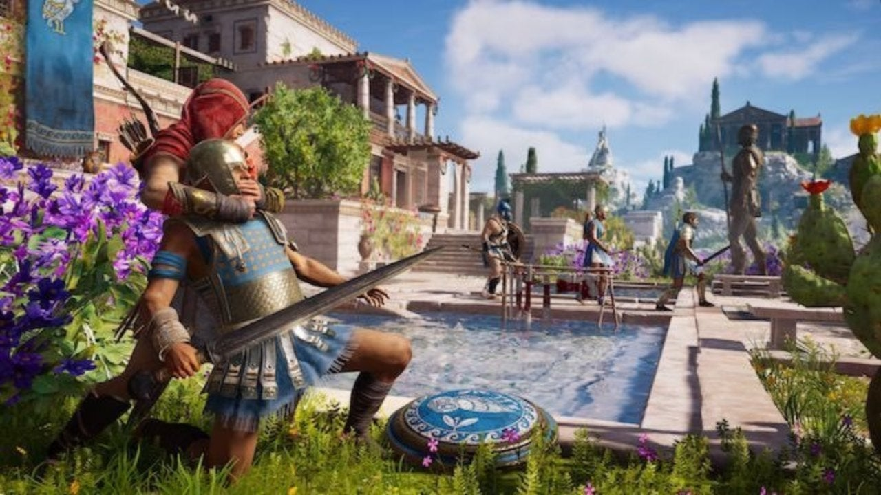 Assassin S Creed Odyssey Download Size Revealed