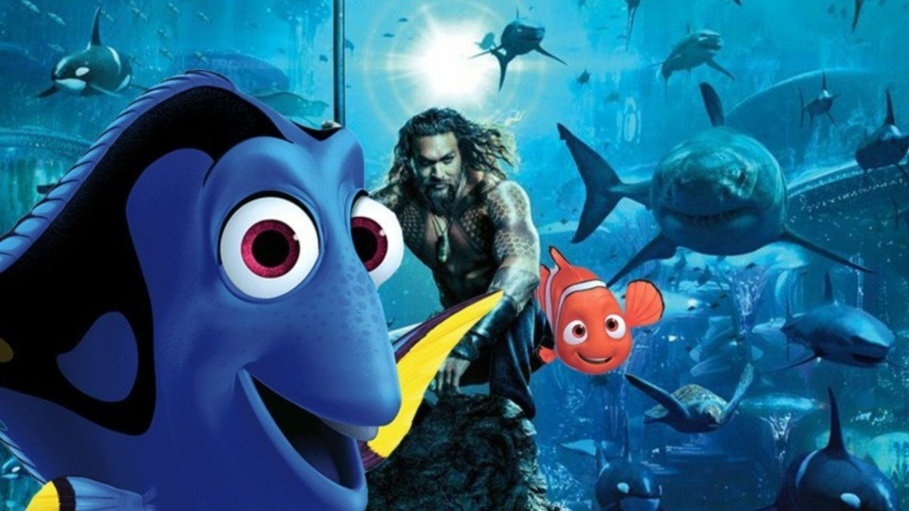 79ca1f1a96974 Japanese 'Aquaman' Movie Poster Looks Even More Like 'Finding Nemo'