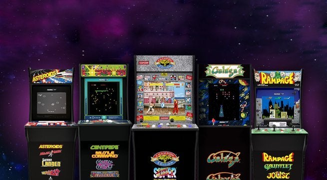 Arcade1Up Home Arcade Cabinets Are Back For $299 With Free