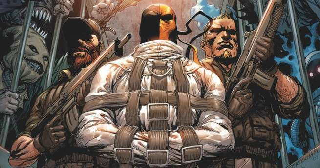 Arkham Villains Deathstroke - Cover