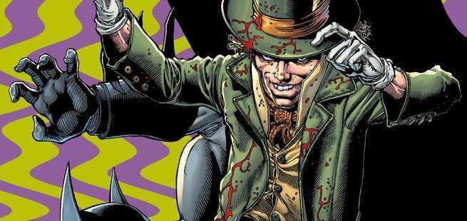 Arkham Villains Deathstroke - Mad Hatter