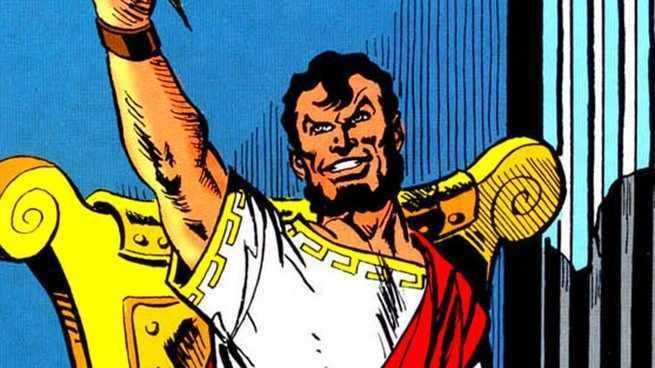 Arkham Villains Deathstroke - Maxie Zeus