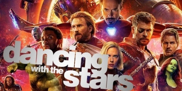 avengers 4 dancing with the stars