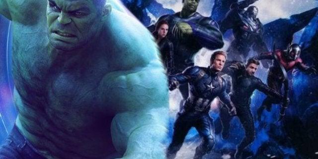 Avengers 4 Hulk Visual Effects Mark Ruffalo
