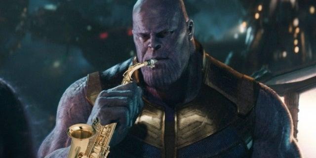 avengers infinity war thanos saxophone 2