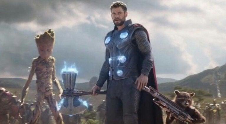 Avengers Infinity War Thor Stormbreaker