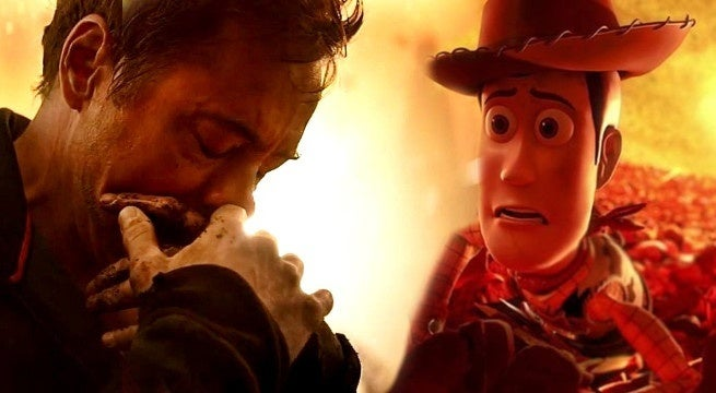 avengers infinity war toy story 4