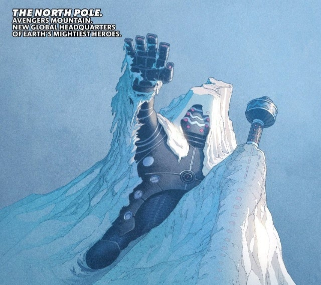 avengers north pole celestial