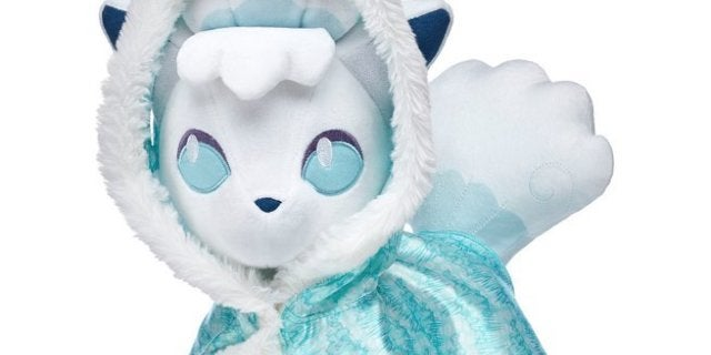 Get Ready For the 'Pokemon' Alolan Vulpix at Build-A-Bear Workshop