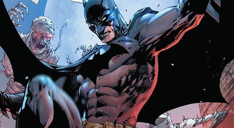 batman nightwing shot