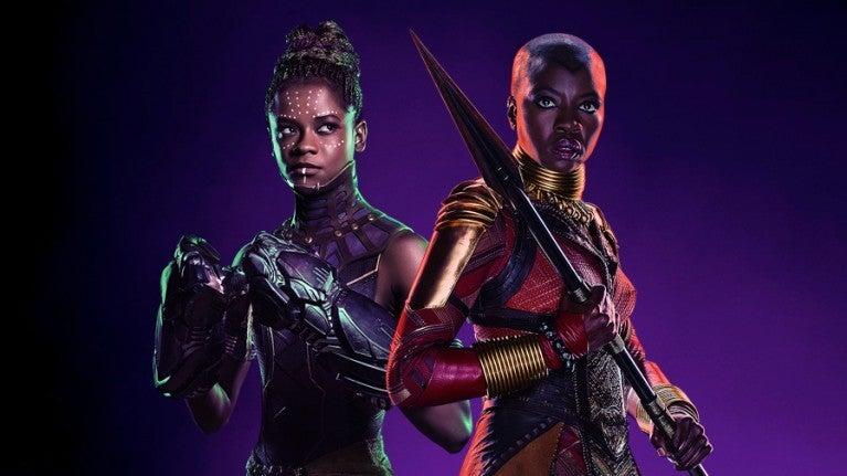 Black Panther Okoye Shuri Gurira Wright COMICBOOKCOM