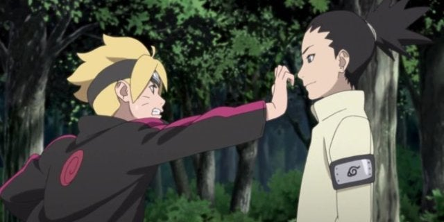 Boruto Episode 74 Team 10 Fight Scene Winner