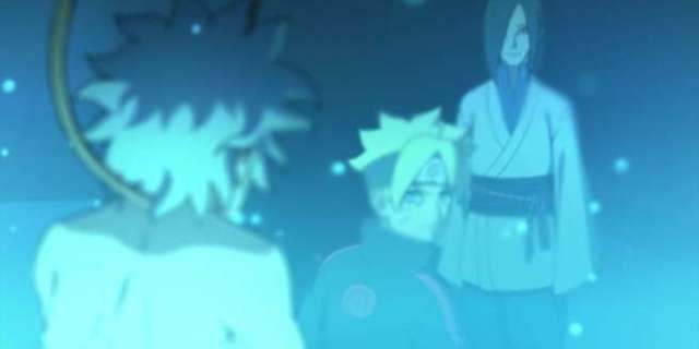 Boruto vs Orochimaru Episode 73