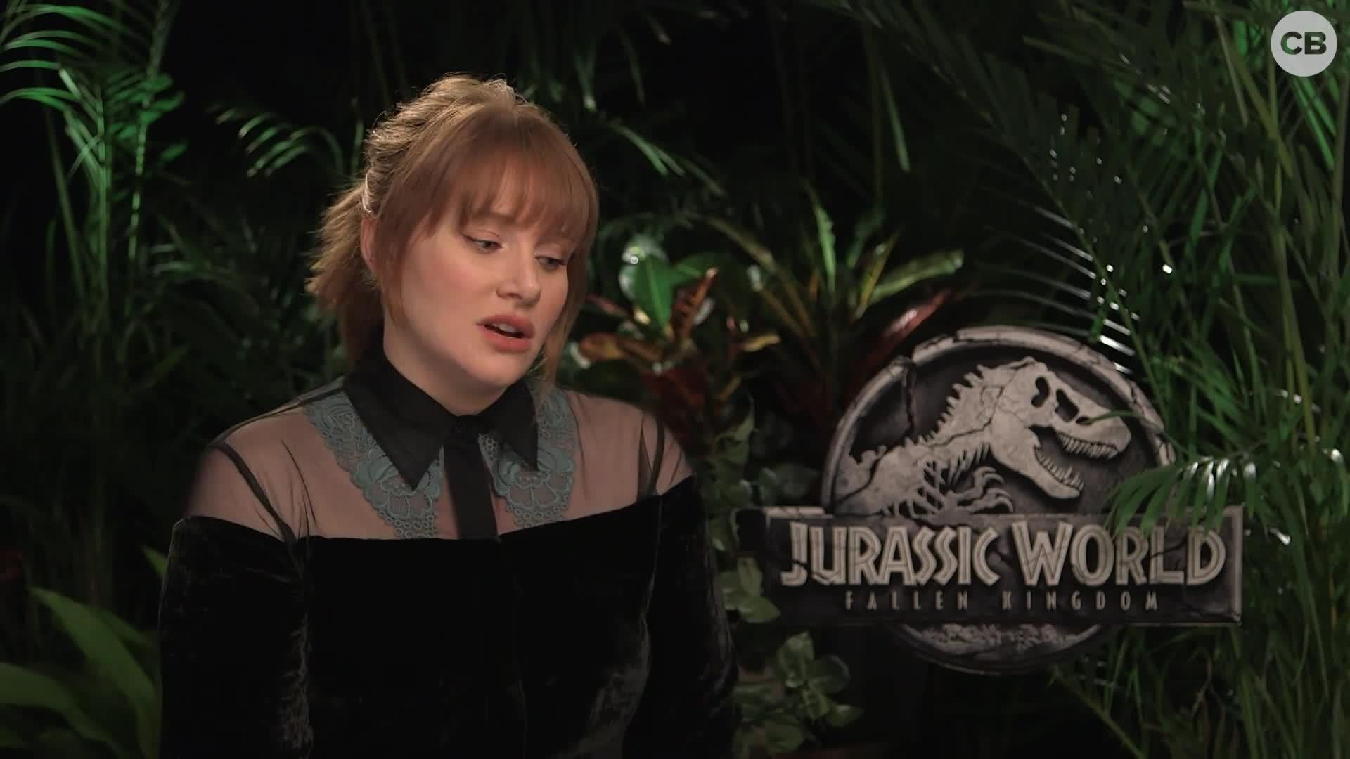 Bryce Dallas Howard Talks Jurassic World: Fallen Kingdom screen capture