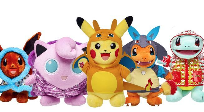 save 25 on pokemon bundles at build a bear workshop today only