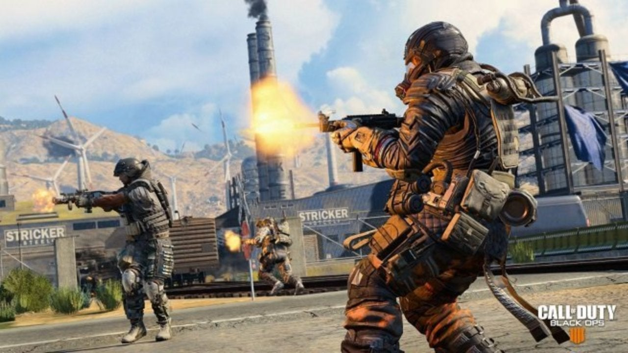 Call Of Duty Black Ops 4 Blackout Update Adds New Weapon And Nuketown Zombies