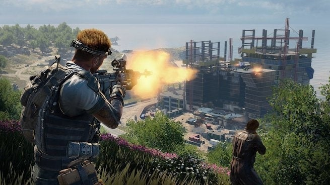 It Takes 5 Minutes To Cross Call of Duty: Black Ops 4's ... on call of duty map layouts, destiny control points maps, call of duty 4: modern warfare, call of duty 2, call of duty bo2, call of duty advanced warfare maps, red dead redemption, call of duty modern warfare 2, call of duty: world at war, call of duty gears of war maps, black ops wii maps, grand theft auto, call of duty 3, call of duty zombies, call of duty 3 maps, call of duty game maps, call duty black ops 3, medal of honor, best call of duty maps, call of duty desert map, black ops zombie maps, bo2 zombies dlc maps, halo: reach, call of duty series list, gears of war 3 maps, gears of war, call of duty: black ops ii, batman: arkham city, black ops ii maps, call of duty: modern warfare 3, call of duty: modern warfare 2, call of duty carrier map, call of duty 2 maps,